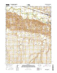 Syracuse West Kansas Current topographic map, 1:24000 scale, 7.5 X 7.5 Minute, Year 2016