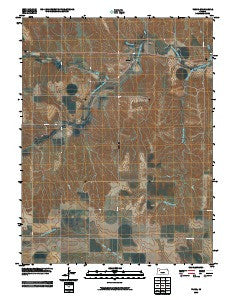 Tasco Kansas Historical topographic map, 1:24000 scale, 7.5 X 7.5 Minute, Year 2009
