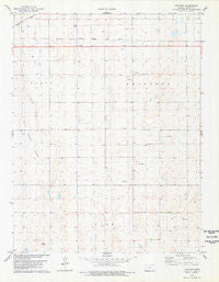 Tractor Kansas Historical topographic map, 1:24000 scale, 7.5 X 7.5 Minute, Year 1978