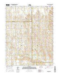 Turkey Creek Kansas Current topographic map, 1:24000 scale, 7.5 X 7.5 Minute, Year 2016