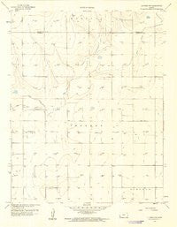 Ulysses NW Kansas Historical topographic map, 1:24000 scale, 7.5 X 7.5 Minute, Year 1959