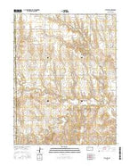 Utica SW Kansas Current topographic map, 1:24000 scale, 7.5 X 7.5 Minute, Year 2015 from Kansas Map Store