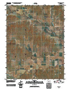 Vesper Kansas Historical topographic map, 1:24000 scale, 7.5 X 7.5 Minute, Year 2009