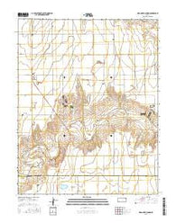 Wagon Bed Spring Kansas Current topographic map, 1:24000 scale, 7.5 X 7.5 Minute, Year 2016