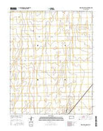 Wagon Bed Spring SE Kansas Current topographic map, 1:24000 scale, 7.5 X 7.5 Minute, Year 2015 from Kansas Map Store