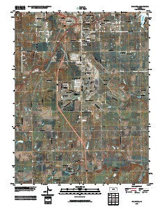 Wakarusa Kansas Historical topographic map, 1:24000 scale, 7.5 X 7.5 Minute, Year 2009