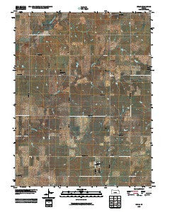 Wells Kansas Historical topographic map, 1:24000 scale, 7.5 X 7.5 Minute, Year 2009