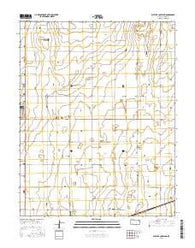 West of Copeland Kansas Current topographic map, 1:24000 scale, 7.5 X 7.5 Minute, Year 2016