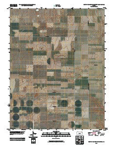 West of Eminence Cemetery Kansas Historical topographic map, 1:24000 scale, 7.5 X 7.5 Minute, Year 2009