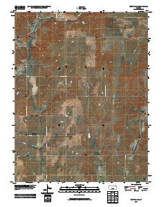 Westfall SE Kansas Historical topographic map, 1:24000 scale, 7.5 X 7.5 Minute, Year 2009
