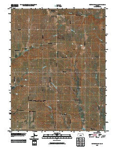 Westmoreland NE Kansas Historical topographic map, 1:24000 scale, 7.5 X 7.5 Minute, Year 2009