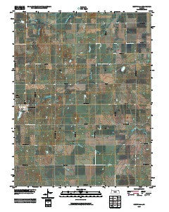 Westphalia Kansas Historical topographic map, 1:24000 scale, 7.5 X 7.5 Minute, Year 2009