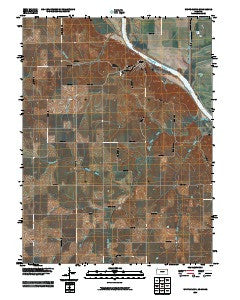 White Cloud Kansas Historical topographic map, 1:24000 scale, 7.5 X 7.5 Minute, Year 2009