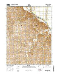 White Cloud Kansas Current topographic map, 1:24000 scale, 7.5 X 7.5 Minute, Year 2016