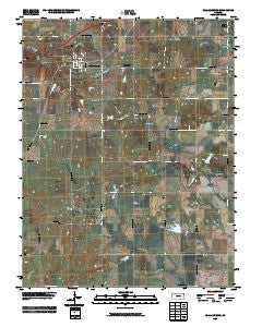 Williamsburg Kansas Historical topographic map, 1:24000 scale, 7.5 X 7.5 Minute, Year 2009