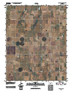 Willowdale Kansas Historical topographic map, 1:24000 scale, 7.5 X 7.5 Minute, Year 2009