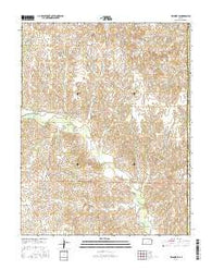 Wilmore SE Kansas Current topographic map, 1:24000 scale, 7.5 X 7.5 Minute, Year 2016