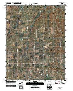 Wilsey Kansas Historical topographic map, 1:24000 scale, 7.5 X 7.5 Minute, Year 2009
