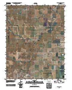 Windom NE Kansas Historical topographic map, 1:24000 scale, 7.5 X 7.5 Minute, Year 2009