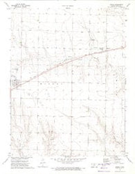 Winona Kansas Historical topographic map, 1:24000 scale, 7.5 X 7.5 Minute, Year 1972