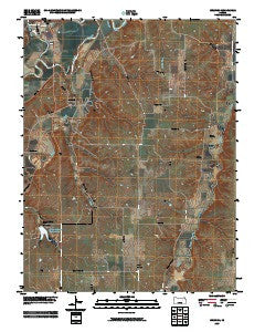 Wreford Kansas Historical topographic map, 1:24000 scale, 7.5 X 7.5 Minute, Year 2009