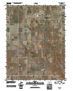 Zurich Kansas Historical topographic map, 1:24000 scale, 7.5 X 7.5 Minute, Year 2009