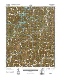 Adams Kentucky Historical topographic map, 1:24000 scale, 7.5 X 7.5 Minute, Year 2013