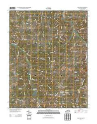 Adolphus Kentucky Historical topographic map, 1:24000 scale, 7.5 X 7.5 Minute, Year 2013