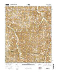 Adolphus Kentucky Current topographic map, 1:24000 scale, 7.5 X 7.5 Minute, Year 2016