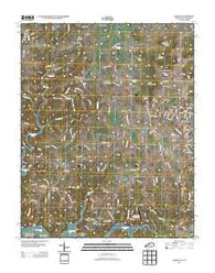 Albany Kentucky Historical topographic map, 1:24000 scale, 7.5 X 7.5 Minute, Year 2013