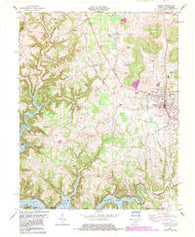 Albany Kentucky Historical topographic map, 1:24000 scale, 7.5 X 7.5 Minute, Year 1978