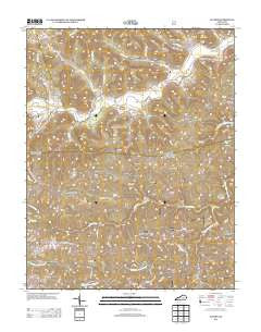 Alcorn Kentucky Historical topographic map, 1:24000 scale, 7.5 X 7.5 Minute, Year 2013