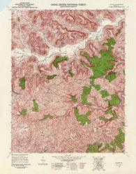 Alcorn Kentucky Historical topographic map, 1:24000 scale, 7.5 X 7.5 Minute, Year 1952