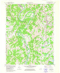 Alexandria Kentucky Historical topographic map, 1:24000 scale, 7.5 X 7.5 Minute, Year 1981