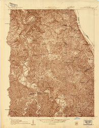 Alexandria Kentucky Historical topographic map, 1:48000 scale, 15 X 15 Minute, Year 1929