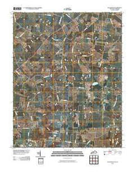 Allensville Kentucky Historical topographic map, 1:24000 scale, 7.5 X 7.5 Minute, Year 2010