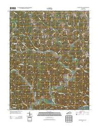Amandaville Kentucky Historical topographic map, 1:24000 scale, 7.5 X 7.5 Minute, Year 2013