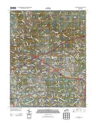 Anchorage Kentucky Historical topographic map, 1:24000 scale, 7.5 X 7.5 Minute, Year 2013