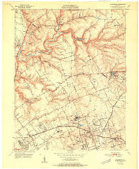 Anchorage Kentucky Historical topographic map, 1:24000 scale, 7.5 X 7.5 Minute, Year 1951