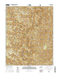 Ano Kentucky Current topographic map, 1:24000 scale, 7.5 X 7.5 Minute, Year 2016