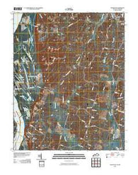 Arlington Kentucky Historical topographic map, 1:24000 scale, 7.5 X 7.5 Minute, Year 2010