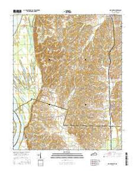 Arlington Kentucky Current topographic map, 1:24000 scale, 7.5 X 7.5 Minute, Year 2016