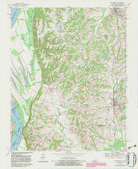 Arlington Kentucky Historical topographic map, 1:24000 scale, 7.5 X 7.5 Minute, Year 1970