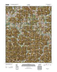 Artemus Kentucky Historical topographic map, 1:24000 scale, 7.5 X 7.5 Minute, Year 2013