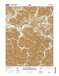 Artemus Kentucky Current topographic map, 1:24000 scale, 7.5 X 7.5 Minute, Year 2016