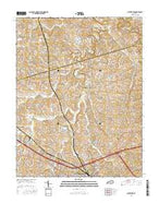 Austerlitz Kentucky Current topographic map, 1:24000 scale, 7.5 X 7.5 Minute, Year 2016 from Kentucky Map Store