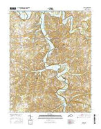 Austin Kentucky Current topographic map, 1:24000 scale, 7.5 X 7.5 Minute, Year 2016 from Kentucky Map Store