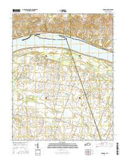Bandana Kentucky Current topographic map, 1:24000 scale, 7.5 X 7.5 Minute, Year 2016 from Kentucky Maps Store