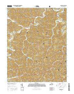 Barcreek Kentucky Current topographic map, 1:24000 scale, 7.5 X 7.5 Minute, Year 2016 from Kentucky Map Store