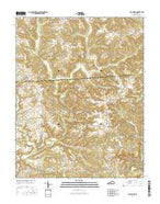 Bee Spring Kentucky Current topographic map, 1:24000 scale, 7.5 X 7.5 Minute, Year 2016 from Kentucky Map Store